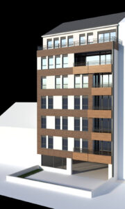 Nodilova 15 - Izgled zgrade dvorište