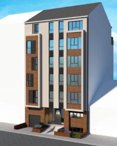Nodilova 15 - Izgled zgrade ka ulici